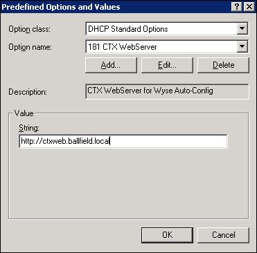 Part 1 – Connecting a Wyse Xenith Client to a Citrix Shared