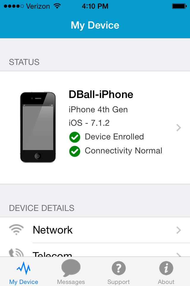 Installing the AirWatch MDM Agent on a Mobile Device – ballblog
